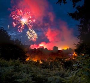 Ludlow Festival Fireworks